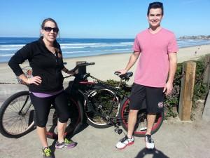 Gina_David biking